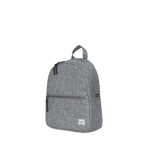 Herschel Sac a dos Herschel Town backpack RAVEN CROSSHATCH