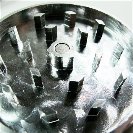 Cali Crusher 2'' 4 Piece Silver Cali Crusher