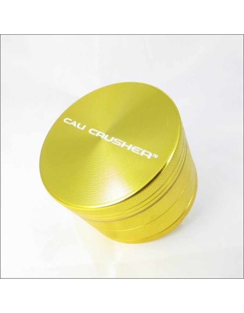 Cali Crusher 2'' 4 Piece Gold Cali Crusher