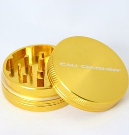 Cali Crusher 2'' 2 Piece Gold Cali Crusher