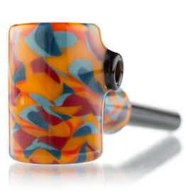 Hollinger Small Orange / Blue Cobb Pipe