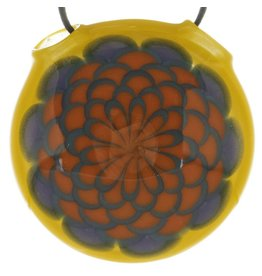 Tyme Tyme Dot Stack / Yellow Pendant