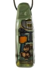 Micro Micro Mario Pendant