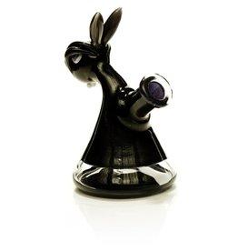 Vibe Glass Vibe Black Bunny Jammer Dab Rig