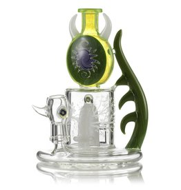 4.0 Glass 4.0 Glass Green & White En4cer Dab Rig
