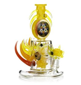 4.0 x Freeek 4.0 x Freeek Red, Orange & Yellow En4cer Dab Rig Collab