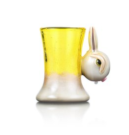 "Vibe Glass Vibe Glass ""Bunny Sipper"" COPA"