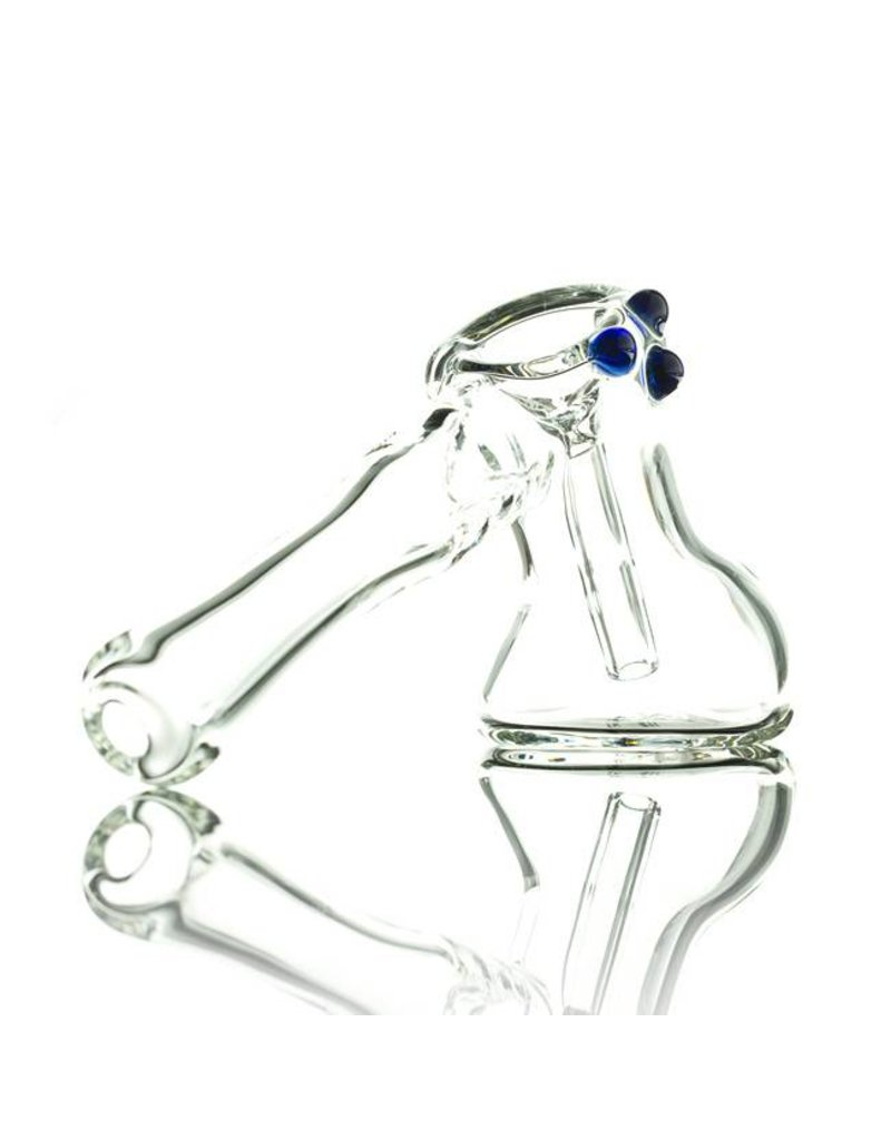 Witch DR Witch DR Clear Hammer Glass Bubbler by Treso Queso