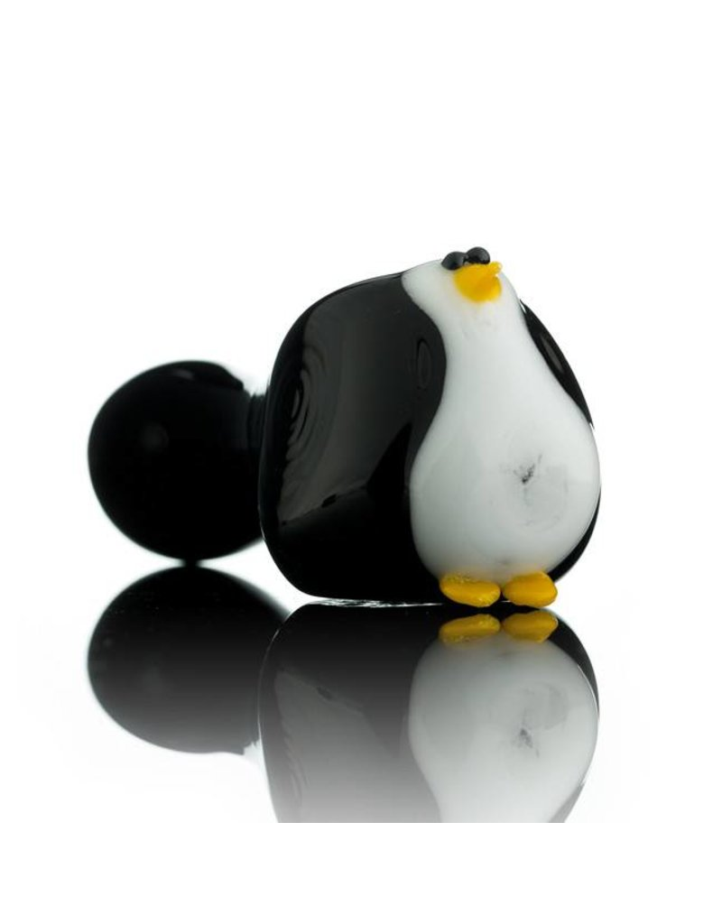 Tammy Baller Tammy Baller Penguin Glass Spoon Hand pipe