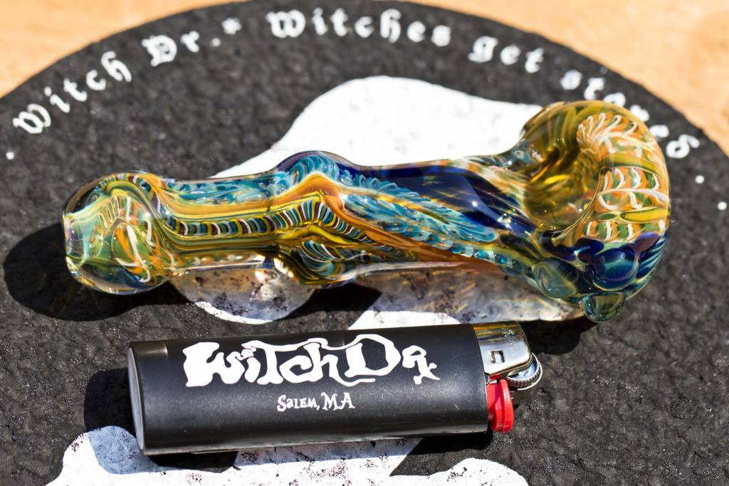 Witch DR Witch DR Large Spoon Pipe w/ Lattichino #4 by PC5