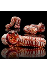 Witch DR Witch DR Red Wrap & Rake Glass Sherlock by Treso Queso