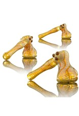 Witch DR Witch DR Caramel Wrap & Rake Hammer Bubbler by Treso Queso