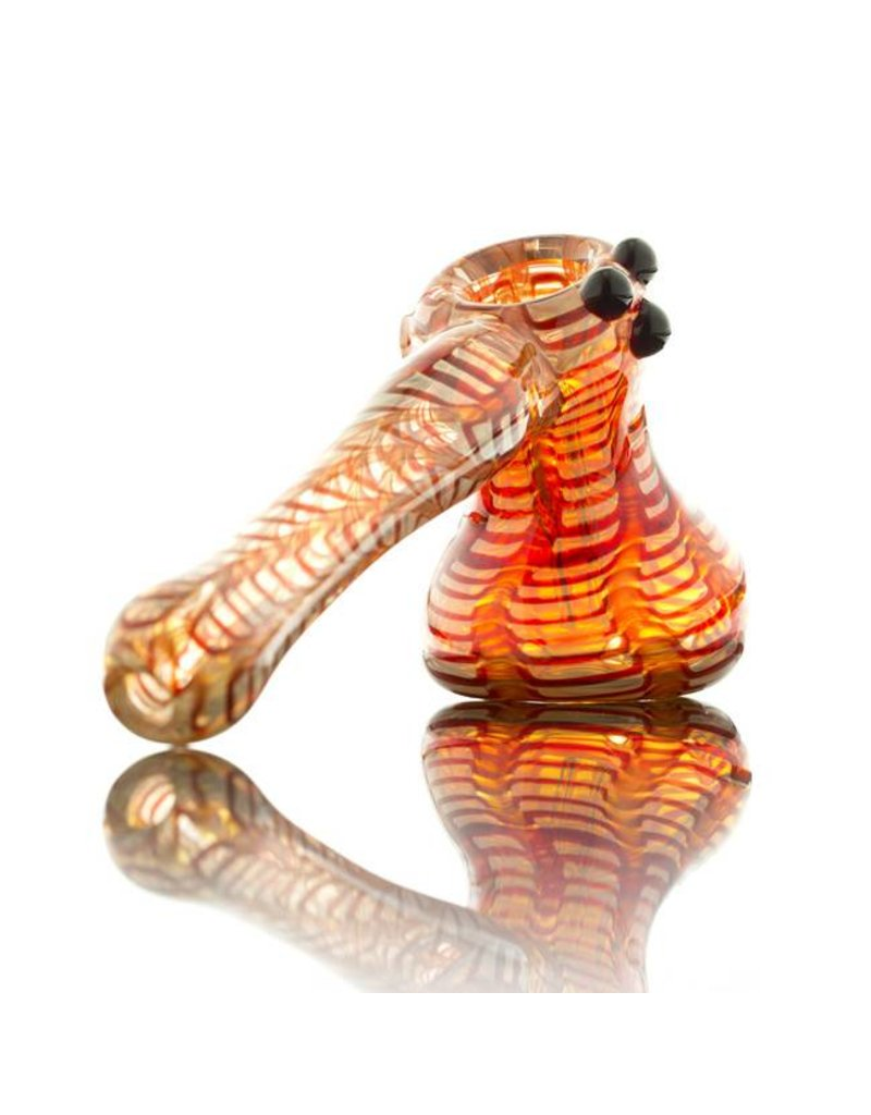 Witch DR Witch DR Red Wrap & Rake Hammer Bubbler by Treso Queso