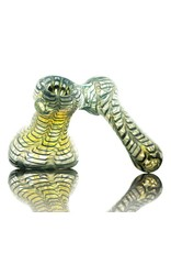 Witch DR Witch DR Green Wrap & Rake Sidecar Bubbler by Treso Queso