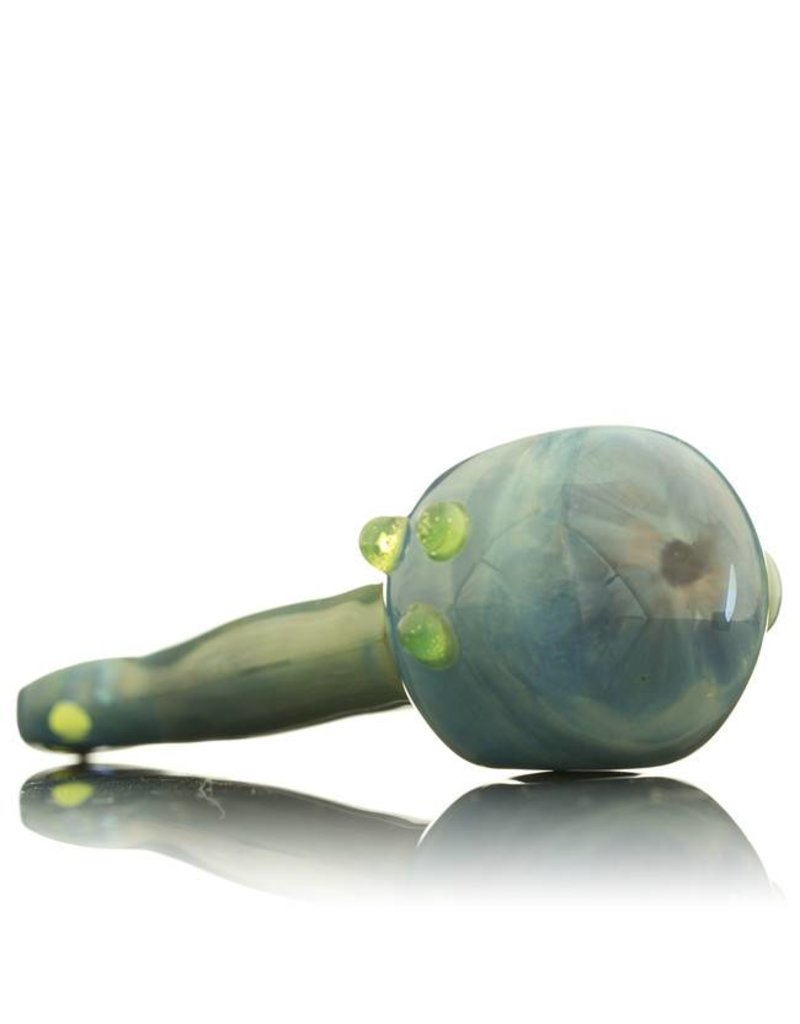 Witch DR Witch DR Fume & Cobalt Flat Mouthpiece Hand Pipe by GloRo Glass