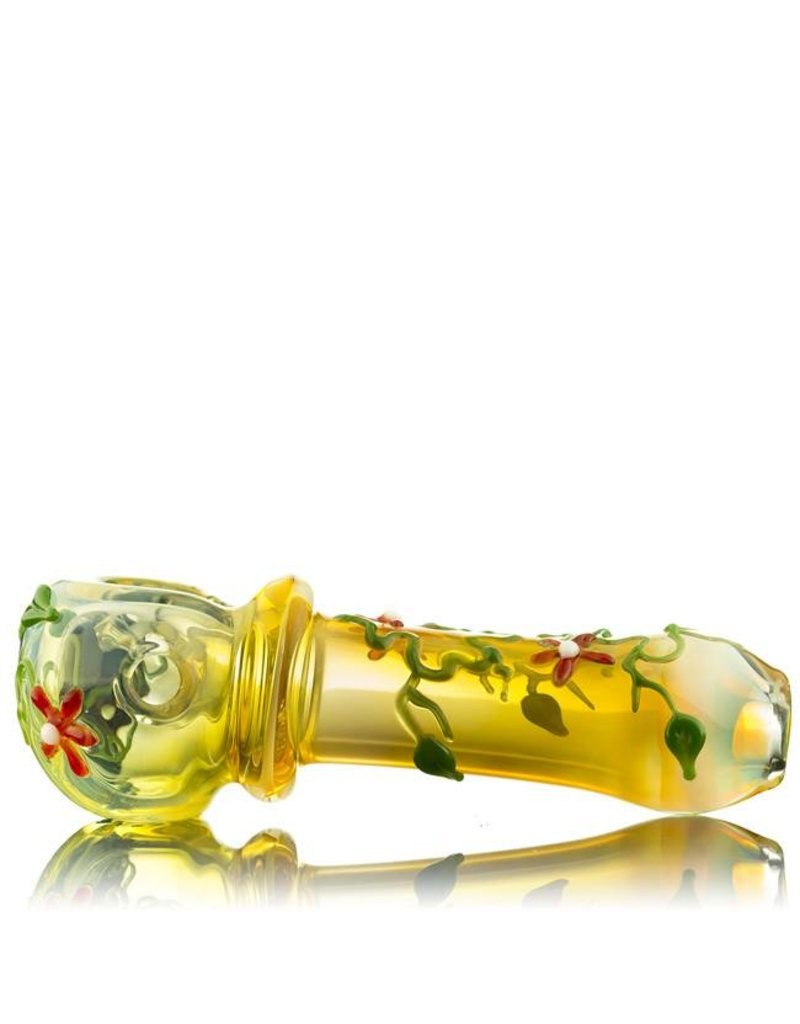 Mouse Mouse Red Flower Pipe - Waldo's Wonders