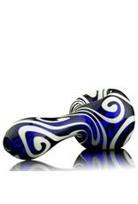 Rowan Rowan Cobalt Celtic Tux Spoon Hand Pipe - Waldo's Wonders