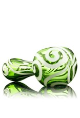 Rowan Rowan Green Celtic Tux Spoon Hand Pipe- Waldo