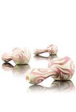 Rowan Rowan Pink Celtic Tux Spoon Hand Pipe - Waldo's Wonders