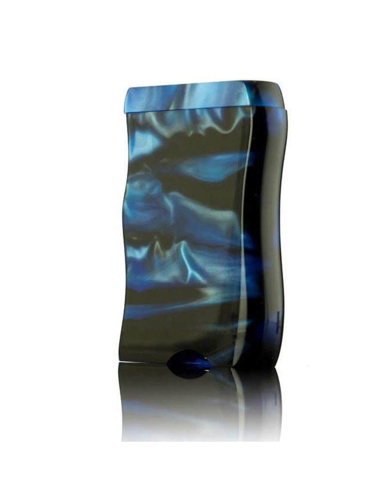 Ryot Small Acrylic Dugout w/Metal Bat Blue & Black