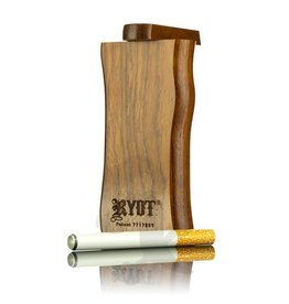 Ryot Large Wood Dugout w/Metal Bat Cherry