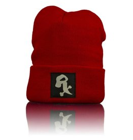 Witch DR Witch DR White Rx Winter Hat  Red