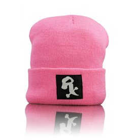 Witch DR White Rx Winter Hat  Neon Pink