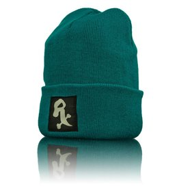 Witch DR White Rx Winter Hat  Computer Blue