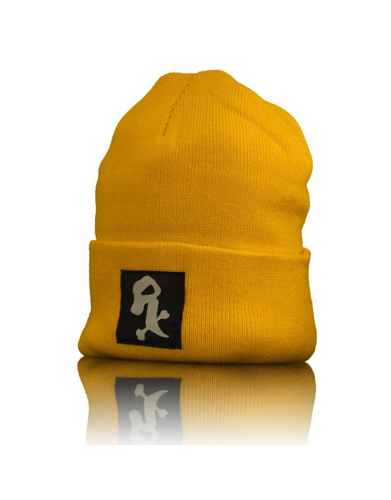 Witch DR White Rx Winter Hat  Gold