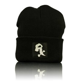 Witch DR Witch DR White Rx Winter Hat  Black