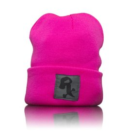 Witch DR Black Rx Winter Hat Neon Pink