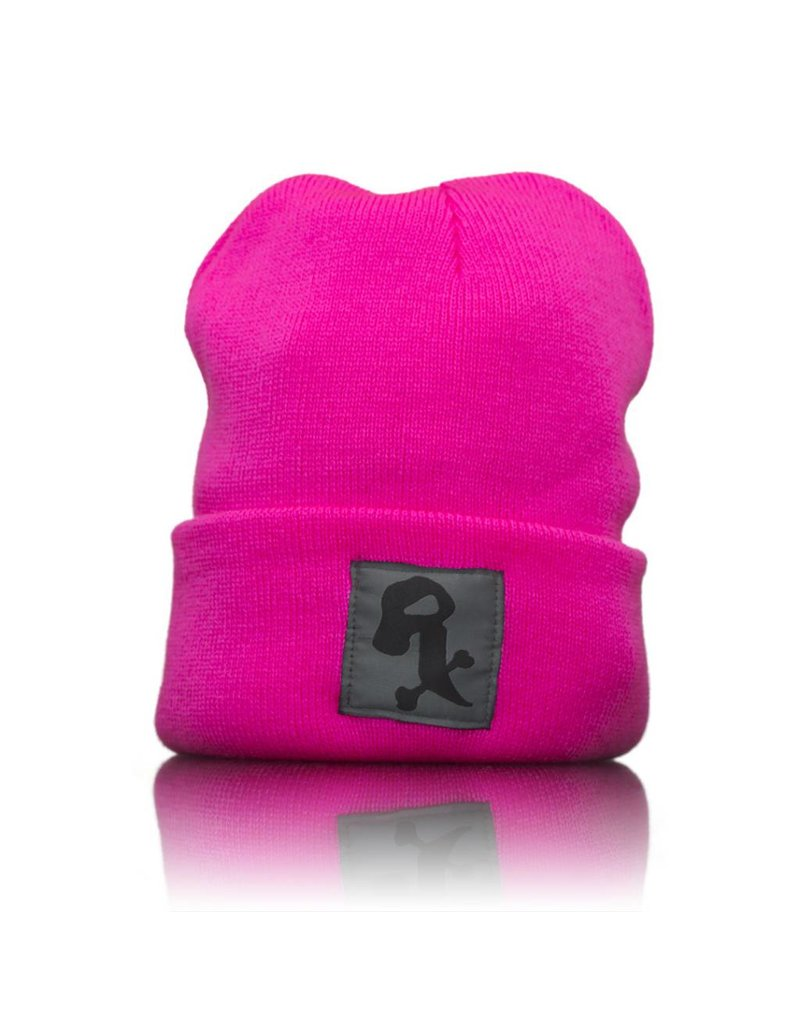 Witch DR Witch DR Black Rx Winter Hat Neon Pink