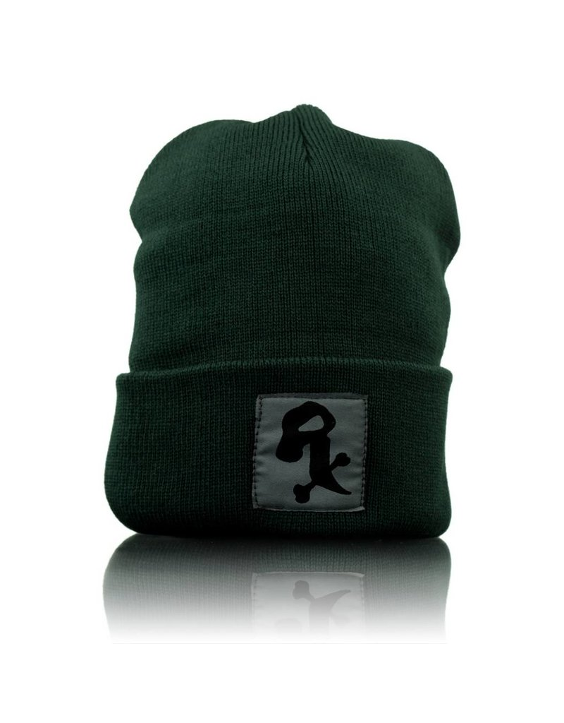 Witch DR Black Rx Winter Hat Forest Green