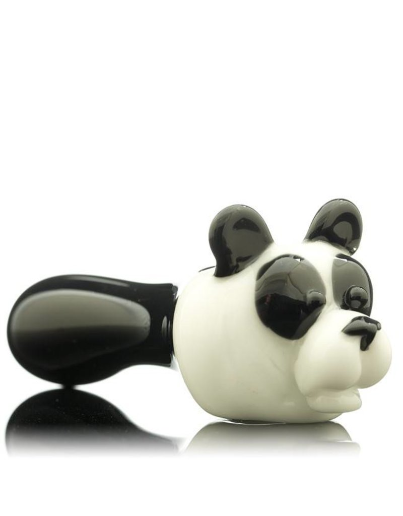 Tammy Baller Tammy Baller Panda Glass Spoon Hand Pipe