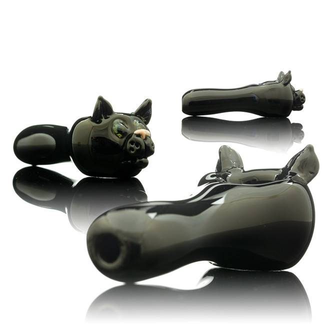 Tammy Baller Tammy Baller Cat Glass Spoon Hand Pipe