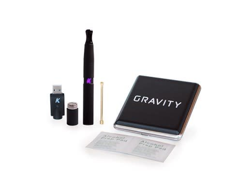 KandyPens Gravity Vaporizer | Sandblasted Black