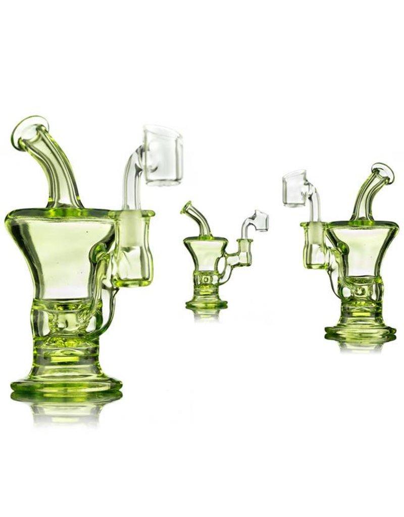 Blais Glass Jeff Blais Illuminati Mini Rig w/ Nail - Waldo's Wonders