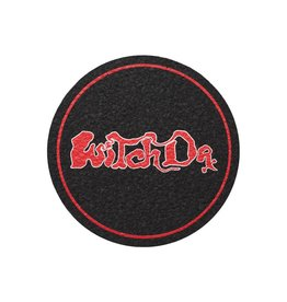 """5"""" Red Witch Dr Rubber Moodmat   Made from 100% Upcycled Materials"""