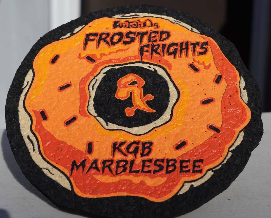 """Moodmats 8"""" KGB / Marblesbee Frosted Frights Moodmat"""