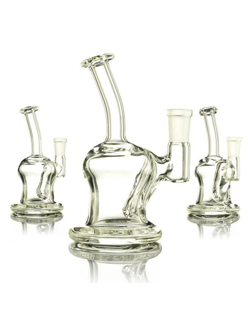 Mass Pipes Mass Pipes Clear Mini Banger Hanger Rig