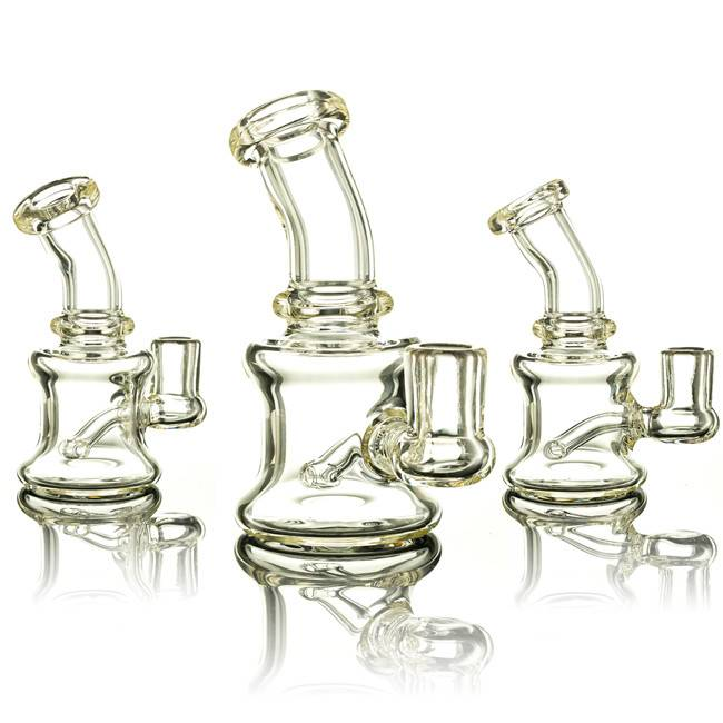 Mouse Mouse Clear Banger Hanger Dab Rig - Waldo's Wonders