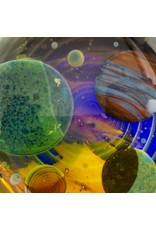 Jolex Jolex Transparent Strata Terps Pendant With Red Planet