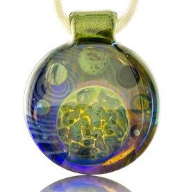 Jolex Transparent Strata Terps With Green Planet Pendant