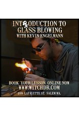 Kevin Engelmann Intro to Glass Blowing Lessons with Kevin Engelmann
