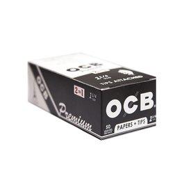 OCB OCB 1 1/4 + Tips 24/Box