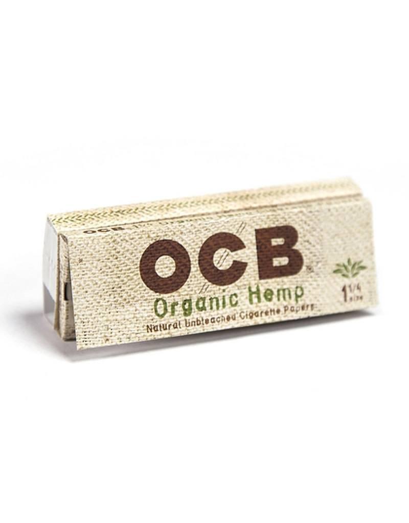 OCB OCB 1 1/4 Organic Hemp + Filters
