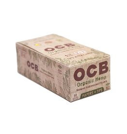 OCB OCB 1 1/4 Organic Hemp + Filters 24/Box