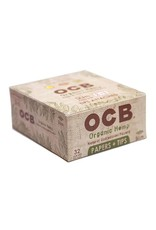 OCB OCB King Size Organic Hemp + Tips 24/Box