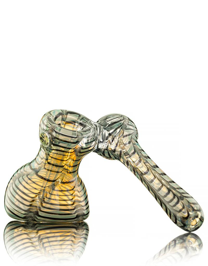 Witch DR Black Wrap & Rake Sidecar Bubbler by Treso Queso