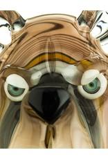 COYLE Coyle Bear Head Glass Pendant